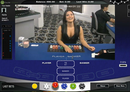 celtic casino live casino