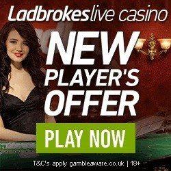 Ladbrokes Live Casino Promo Code Bonus