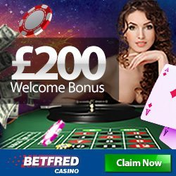 Betfred Live Casino, Mobile App & Bonus