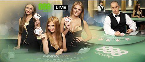 Live Casino at 888casino