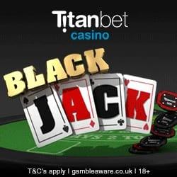 Titanbet UK Live Casino Bonus Code for £300 Bonus