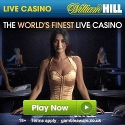 William Hill Live Casino £100 Free + £300 Welcome Bonus