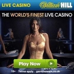 William Hill Live Casino £100 Free + £300 Welcome Bonus